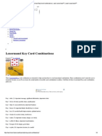Lenormand Key Card Combinations