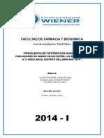 Investigacion Formativa de Parasitologica Casi Liscto