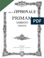 Prima Sabbato