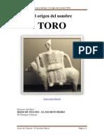 El Origen Del Nombre TORO