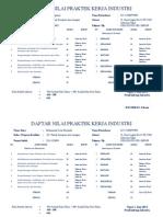 Daftar Nilai Praktek Kerja Industricetak