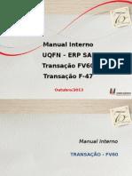 Apresentação Manual FV60 - F-47