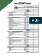 Analisa Harga&Bahan Untuk Seluruh Paket Kegiatan Pemb Gd Perpustakaan