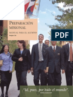 Manual de Preparacion Para Futuros Misioneros