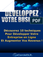 Rapport-Developpez Votre Business