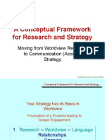 Research to Strategy