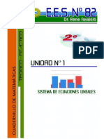Cuadernillo de Sistemas de Ecuaciones Lineales