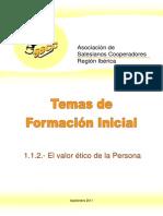 Formacion_El Valor Etico de La Persona