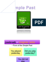Simple Past (PPT)