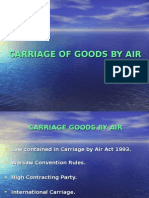 Carriage by Air