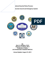 The National Security Council and Interagency SystemThe National Security Council and Interagency System