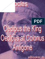 Oedipus the King - Oedipus at C - Sophocles