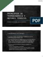 Principios de Termodinámica y Motores Térmicos
