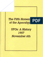 THE FIFTH HORSEMAN OF THE APOCALYPSE, UFOS