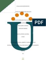 Estudio Financiero Del Proyecto Actividad Colaborativa