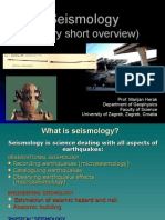 1. Overview Seismology
