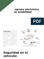 ESP Programa Electrónico de Estabilidad