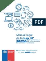 Manual Legal Ley Nº 20730