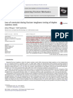 Loss of constraint during fracture toughness testing of duplex stainless steels.pdf