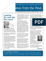News from the Pews Feb 2010