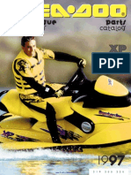1997 SeaDoo XP (5662) Parts Catalog