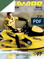 1997 SeaDoo XP (5662) Parts Catalog