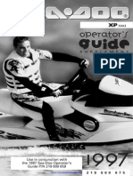 1997 SeaDoo Racing Handbook | Carburetor | Throttle