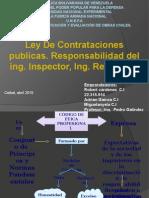 Ley de Contrataciones Publicas