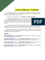 Confucio - Los Cuatro Libros Clasicos