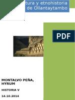 Arquitectura y Etnohistoria de Ollantaytambo