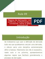 09-Regras de derivação (parte 1)