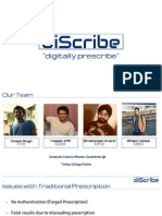 DiScribe -Presentation - First Draft