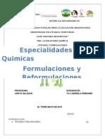 2015 FORMULACIONES
