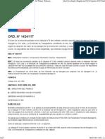 117 - Normativa Laboral. Dirección Del Trabajo. Gobierno de Chile.
