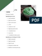 Cupcakes de Té Verde