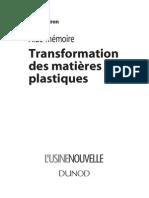 89231784 Aide Memoire Transformation Des Matieres Plastiques