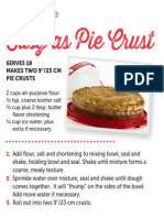 Tupperware Easy Pie Crust