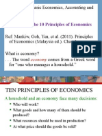 Lecture 1 - Intro to Economics