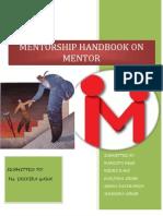 MENTOR Mentee Handbook