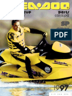 1997 SeaDoo SP (5879), SPX (5834,5661) Parts Catalog