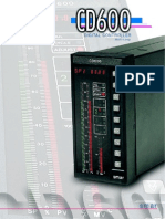 Catalogo Controlador CD 600