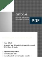 DISTOCIA