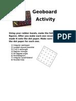 Geoboard Activity