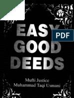 Easy Good Deeds by Mufti Taqi Usmani