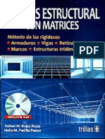 Análisis Estructural Con Matrices - Rafael Rojas Rojas & Helia Padilla Punzo