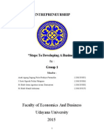 Steps for Developing a Business