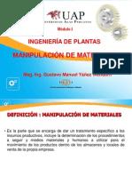 3.- Manipulación de Materiales
