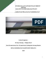 Dokumen Pengelolaan Lingkungan Hidup