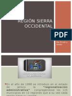 Region sierra occidental