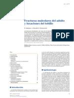 2014 Fracturas Maleolares Del Adulto y Luxaciones Del Tobillo